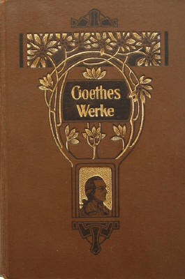 j w v goethe goethes werke um 1900 im antiquariat rostock. Black Bedroom Furniture Sets. Home Design Ideas